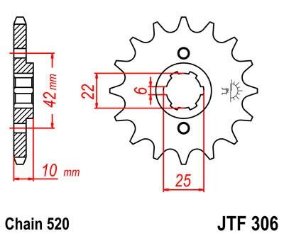 Priekinė žvaigždė JT (JTF 306-14)