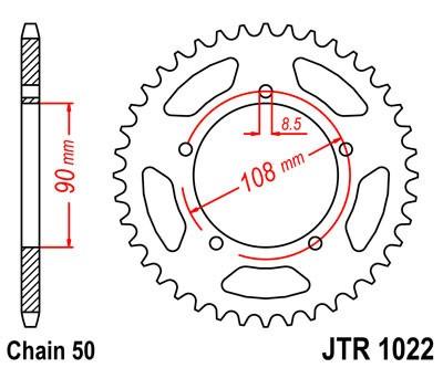 Galinė žvaigždė JT (JTR 1022-42)
