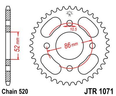 Galinė žvaigždė JT (JTR 1071-30)