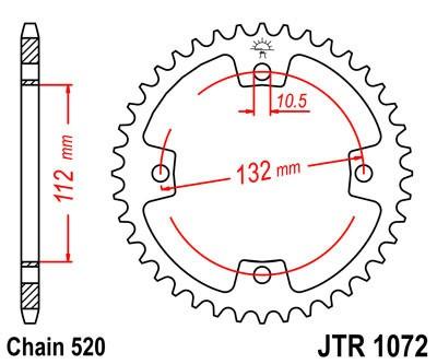 Galinė žvaigždė JT (JTR 1072-38)