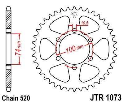 Galinė žvaigždė JT (JTR 1073-46)