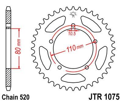 Galinė žvaigždė JT (JTR 1075-39)