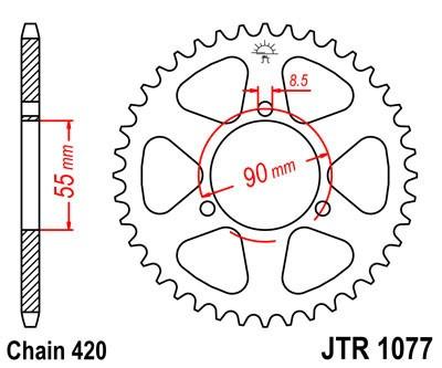 Galinė žvaigždė JT (JTR 1077-47)