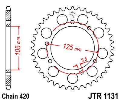 Galinė žvaigždė JT (JTR 1131-58)