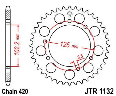 Galinė žvaigždė JT (JTR 1132-48)