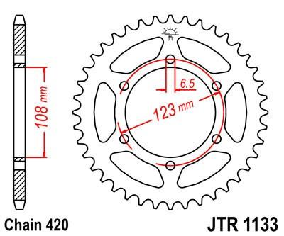 Galinė žvaigždė JT (JTR 1133-52)