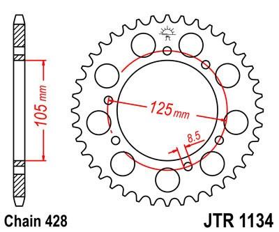 Galinė žvaigždė JT (JTR 1134-50)