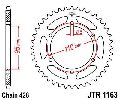 Galinė žvaigždė JT (JTR 1163-45)