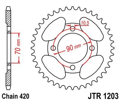Galinė žvaigždė JT (JTR 1203-42)
