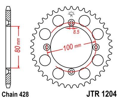 Galinė žvaigždė JT (JTR 1204-50)