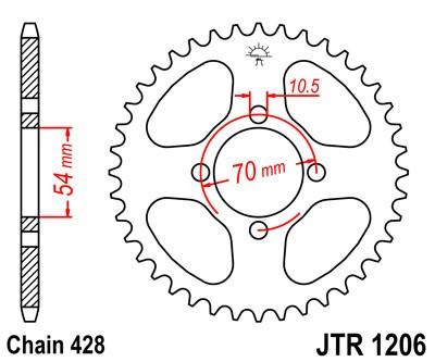 Galinė žvaigždė JT (JTR 1206-42)