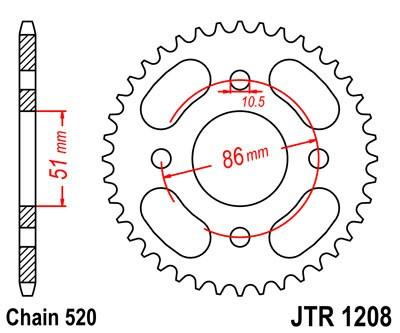 Galinė žvaigždė JT (JTR 1208-44)