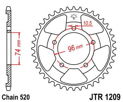 Galinė žvaigždė JT (JTR 1209-41)