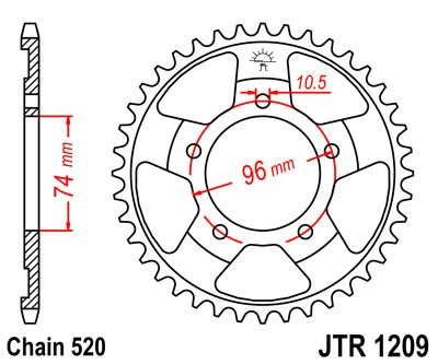 Galinė žvaigždė JT (JTR 1209-42)