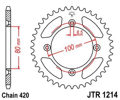 Galinė žvaigždė JT (JTR 1214-46)