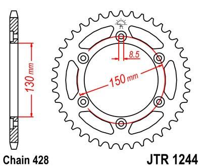 Galinė žvaigždė JT (JTR 1244-54)