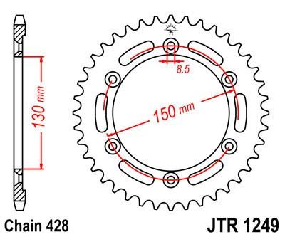 Galinė žvaigždė JT (JTR 1249-51)