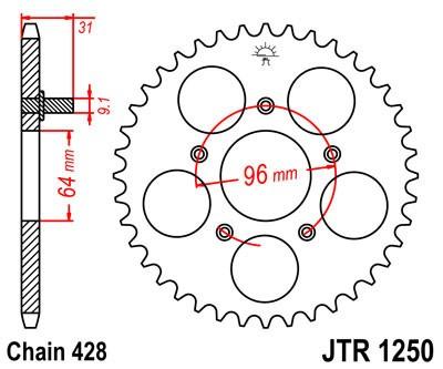 Galinė žvaigždė JT (JTR 1250-56)