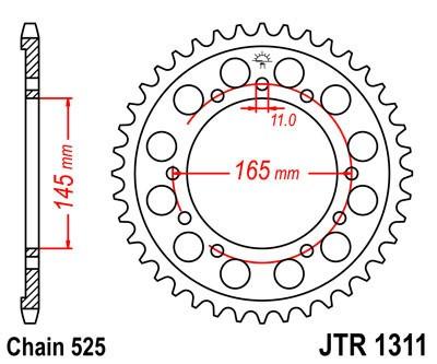 Galinė žvaigždė JT (JTR 1311-43)