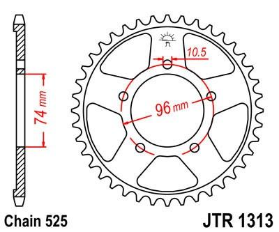Galinė žvaigždė JT (JTR 1313-40)