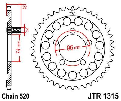 Galinė žvaigždė JT (JTR 1315-40)