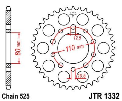 Galinė žvaigždė JT (JTR 1332-38)