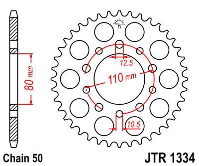 Galinė žvaigždė JT (JTR 1334-46)