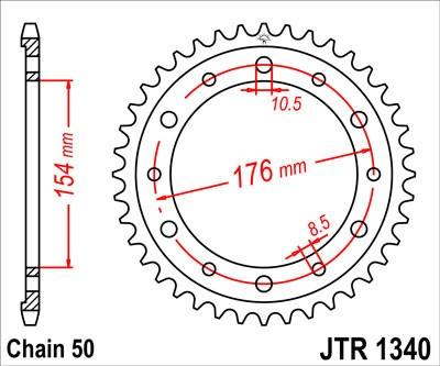 Galinė žvaigždė JT (JTR 1340-43)