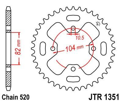 Galinė žvaigždė JT (JTR 1351-40)