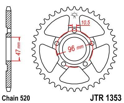Galinė žvaigždė JT (JTR 1353-40)