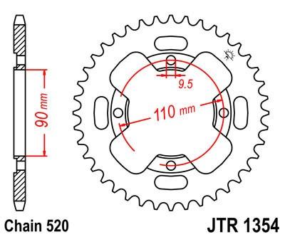 Galinė žvaigždė JT (JTR 1354-38)