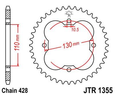 Galinė žvaigždė JT (JTR 1355-48)