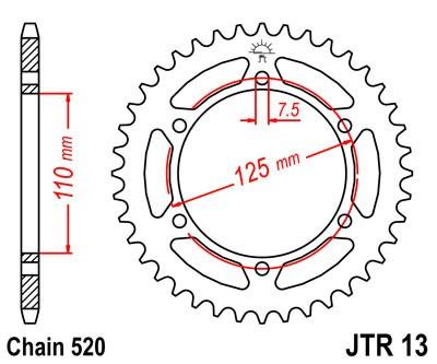 Galinė žvaigždė JT (JTR 13-40)