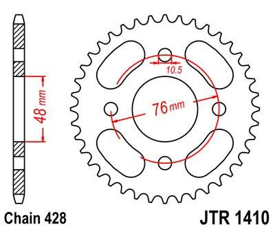 Galinė žvaigždė JT (JTR 1410-50)