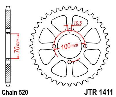 Galinė žvaigždė JT (JTR 1411-50)