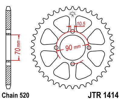 Galinė žvaigždė JT (JTR 1414-43)