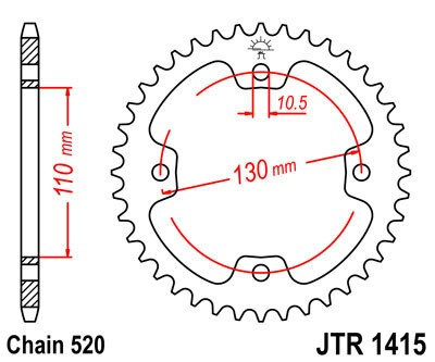 Galinė žvaigždė JT (JTR 1415-38)
