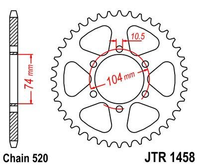 Galinė žvaigždė JT (JTR 1458-40)