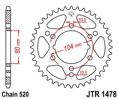 Galinė žvaigždė JT (JTR 1478-40)