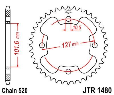 Galinė žvaigždė JT (JTR 1480-38)