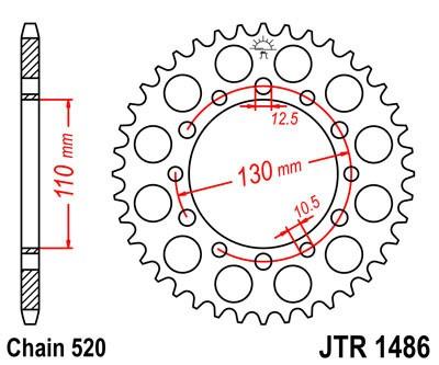 Galinė žvaigždė JT (JTR 1486-42)
