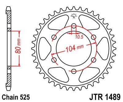 Galinė žvaigždė JT (JTR 1489-43)