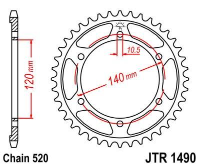 Galinė žvaigždė JT (JTR 1490-40)