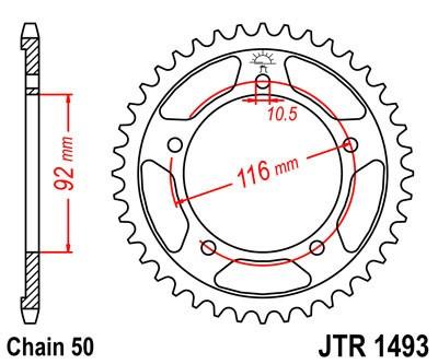 Galinė žvaigždė JT (JTR 1493-41)