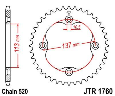 Galinė žvaigždė JT (JTR 1760-40)