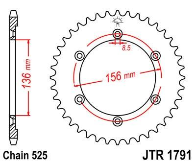 Galinė žvaigždė JT (JTR 1791-43)