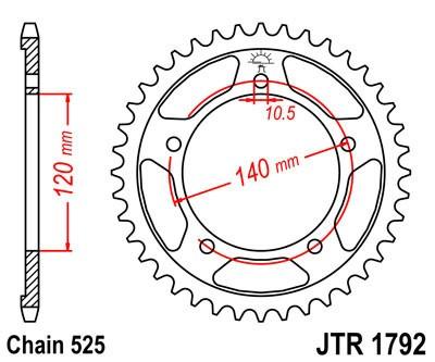 Galinė žvaigždė JT (JTR 1792-44)