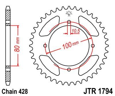Galinė žvaigždė JT (JTR 1794-45)