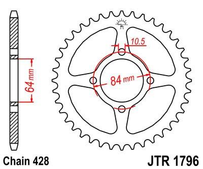 Galinė žvaigždė JT (JTR 1796-49)