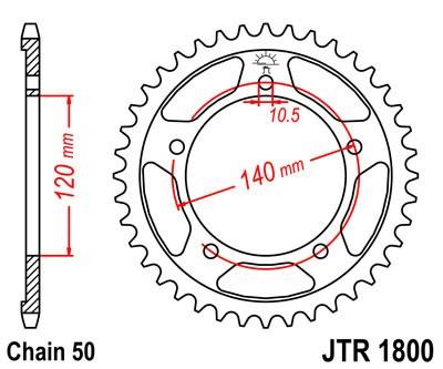Galinė žvaigždė JT (JTR 1800-43)